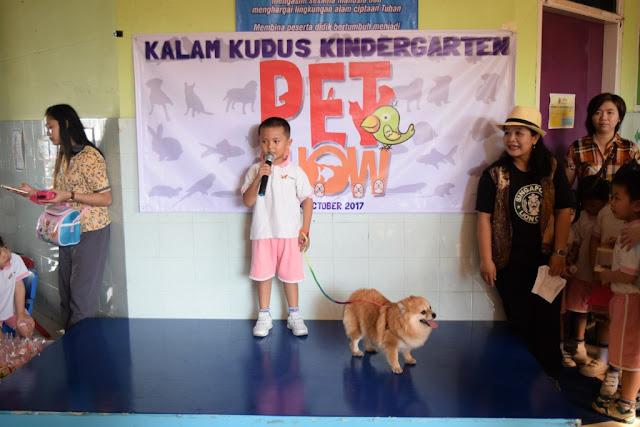 TK Kristen Kalam Kudus Surakarta Adakan Pet Show
