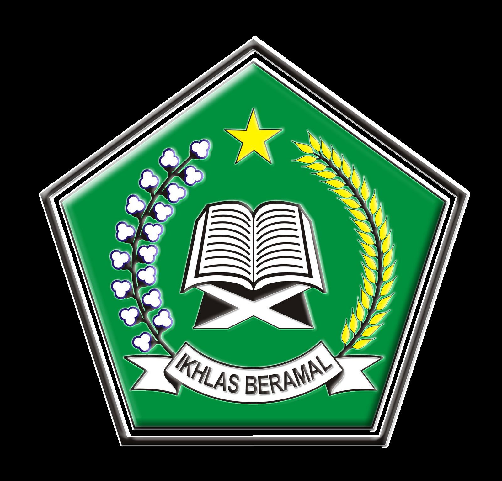 Logo Kementerian Agama Jpg Png Corel 3d Dan Hitam