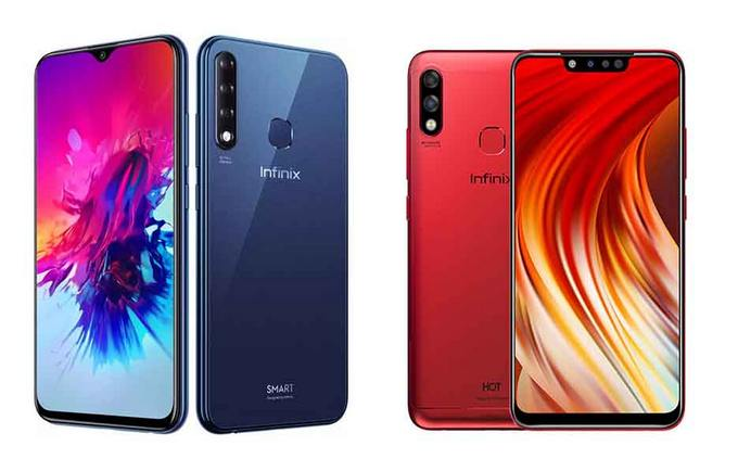 Infinix Hot 7 Pro dan Smart 3 Plus