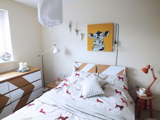 DIY bedroom lighting