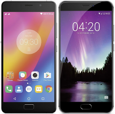 Lenovo P2 vs Meizu MX6