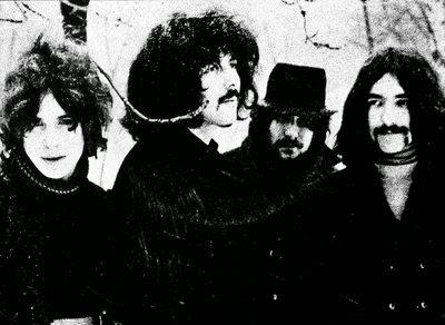 Παλιά, πρώιμη φωτογραφία των Black Sabbath, από το 1969 / Black Sabbath in 1969