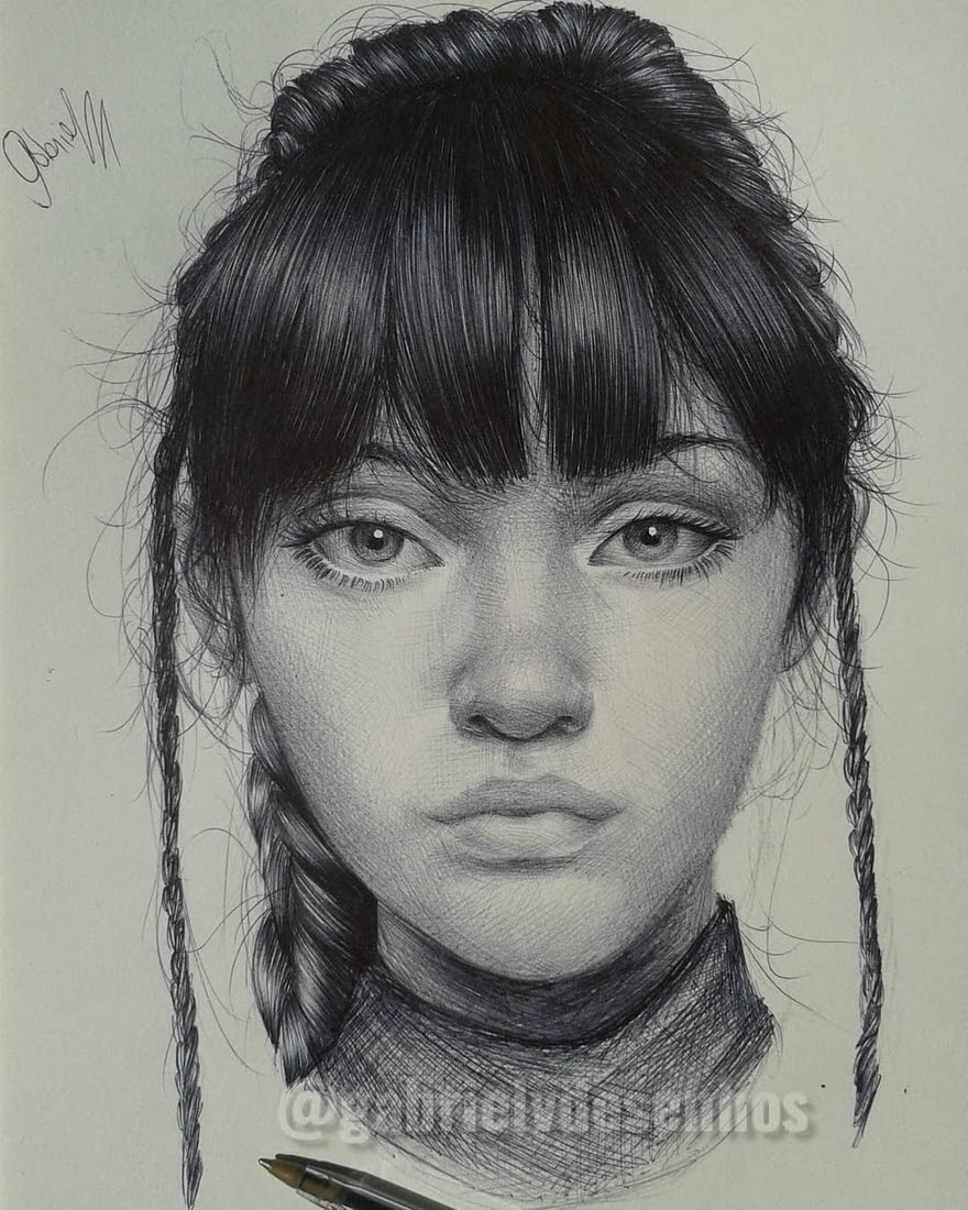09-Gabriel-Vinícius-Black-and-White-Realistic-Ballpoint-Pen-Drawings-www-designstack-co