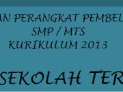 DOWNLOAD Lengkap KKM Matematika SMP Kurikulum 2013