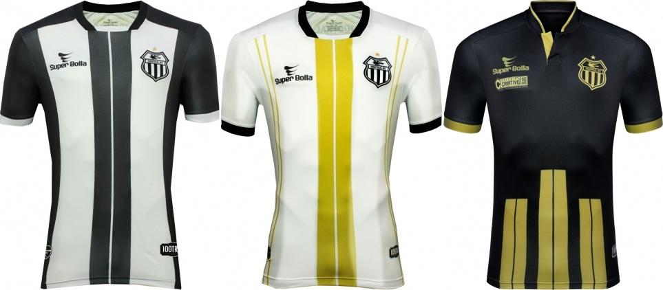 Super Bolla lança as novas camisas do Central de Caruaru - Show de ... 5128b01f3702a