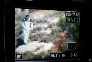 Footage Captures West Bank Arsonist In The Act