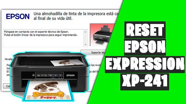 Cómo resetear impresora EPSON Expression XP-241