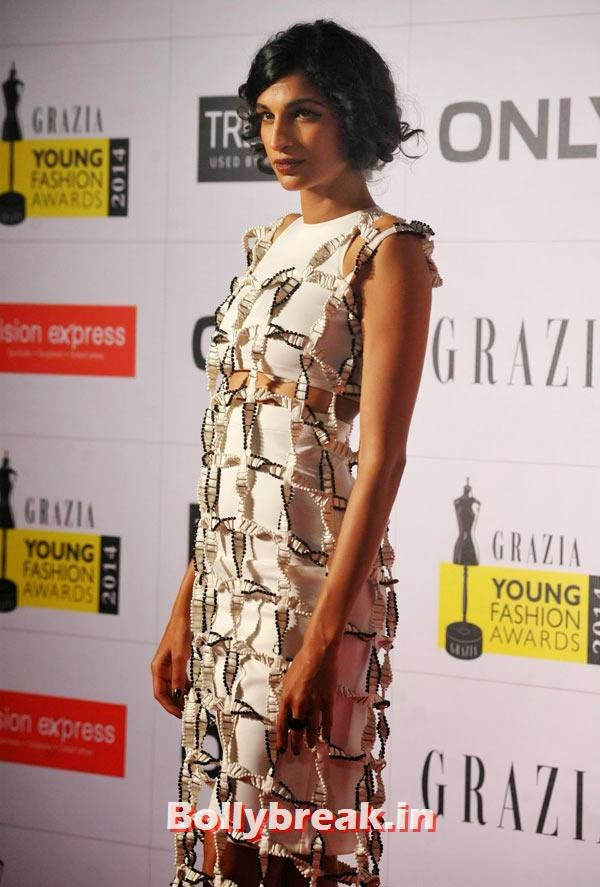Anushka Manchanda, Grazia Young fashion Awards Pics