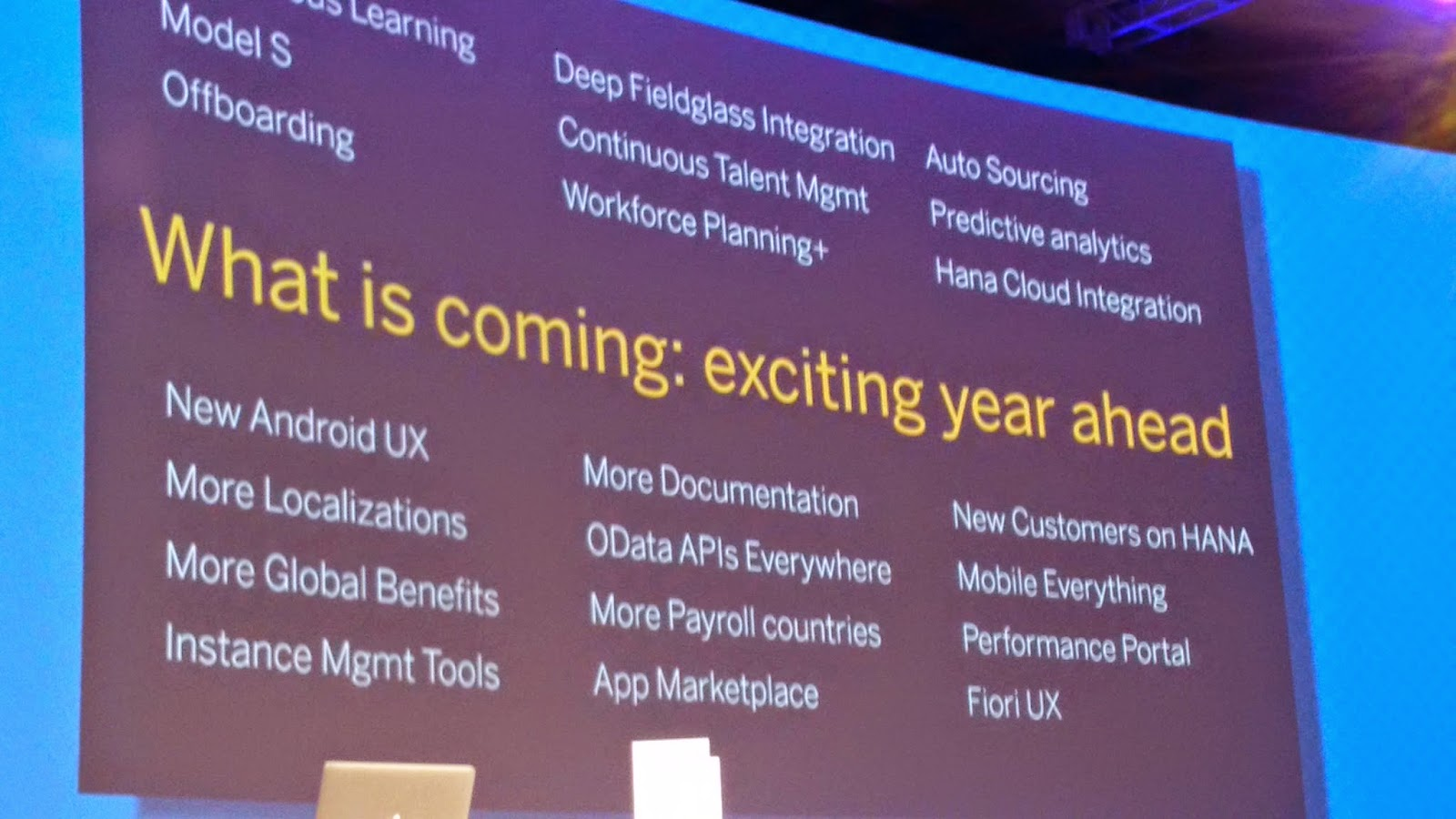Event Report - SAP SuccessFactors picks up speed - but there remains