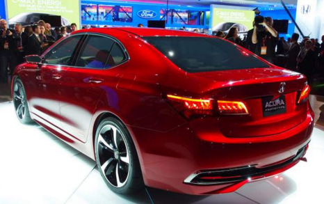 2017 Acura TLX Features