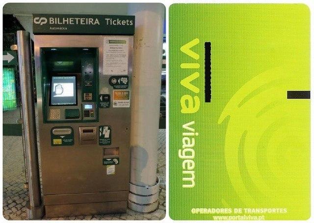 Tarjeta-billete tren Lisboa a Sintra