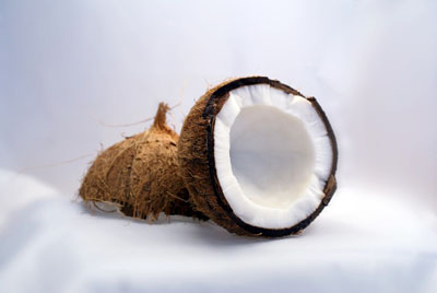 coconut-grandma's remedy for mouth ulcers