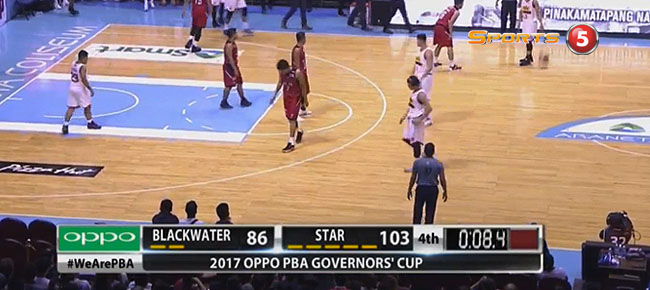 Star Hotshots def. Blackwater, 103-86 (REPLAY VIDEO) July 23