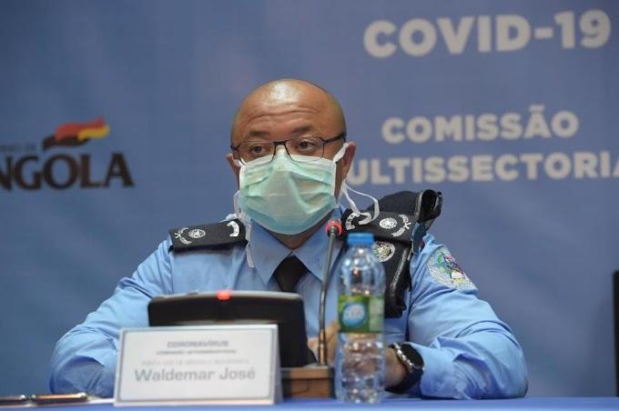 Covid-19: Secretária da UNITA fura cerca e quase atropela polícias no Huambo