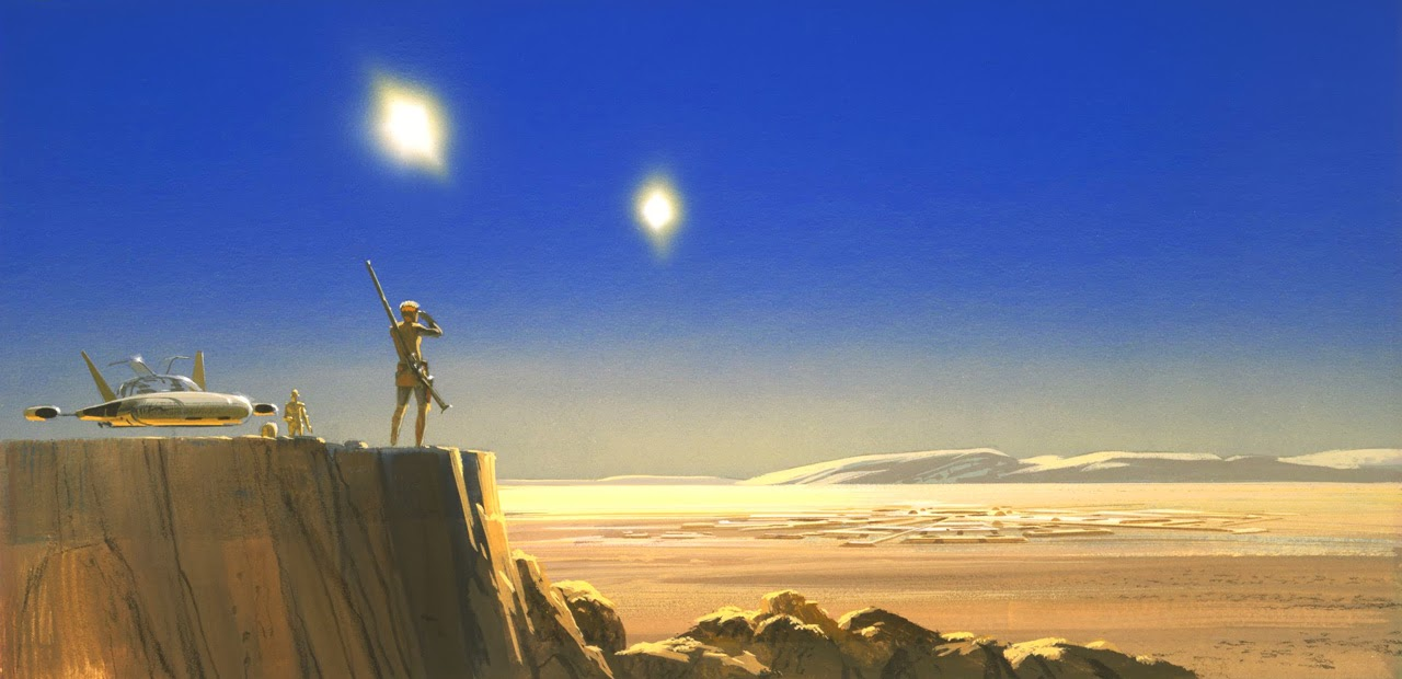 A New Hope concept art by Ralph McQuarrie