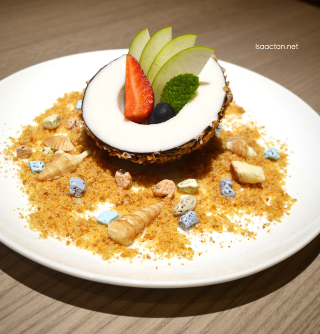 Cracked Coconut dessert