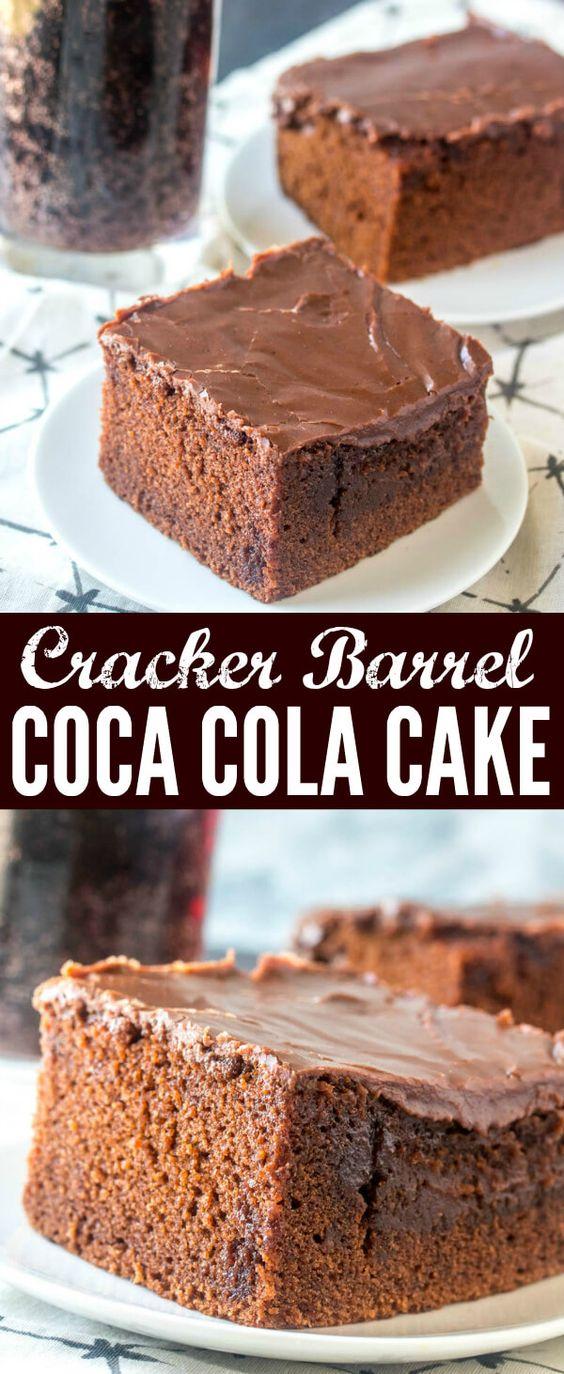 Cracker Barrel Coca Cola Cake