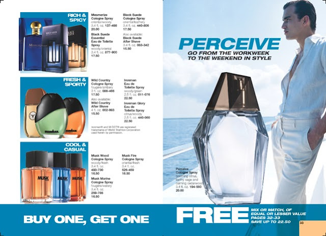 Avon Men's Fragrance Image