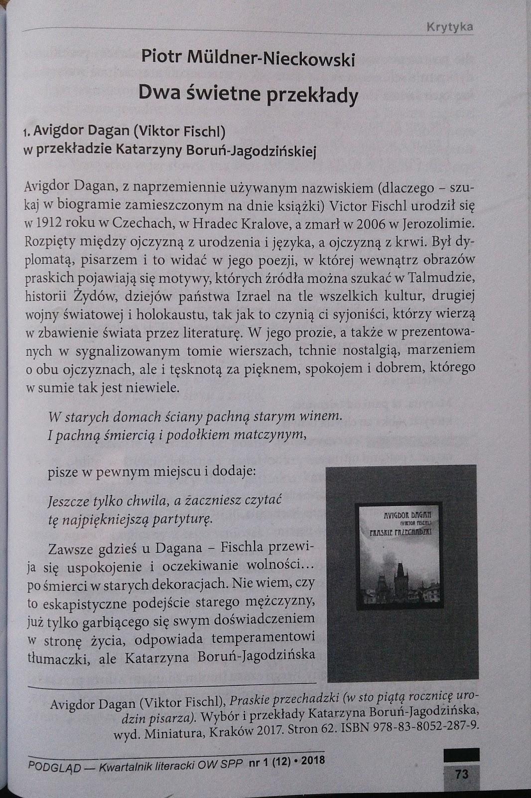 Katarzyna Boruń Jagodzińska Pisali O Mnie Dobrze I źle