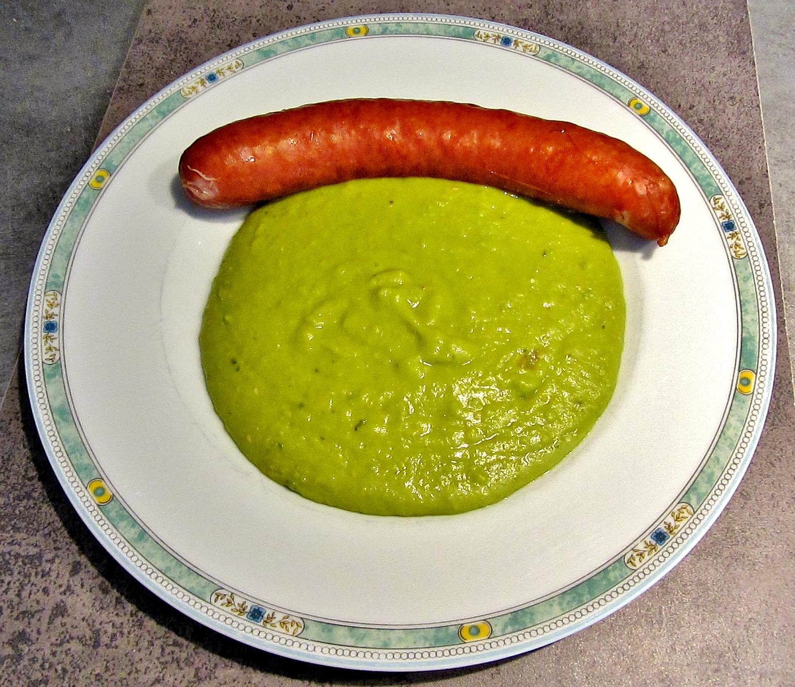 Les recettes de babeth pur e de petits pois - Comment cuisiner les petits pois ...