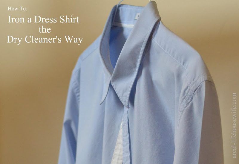 How To Iron A Dress Shirt The Dry Cleaner S Way Ask Anna