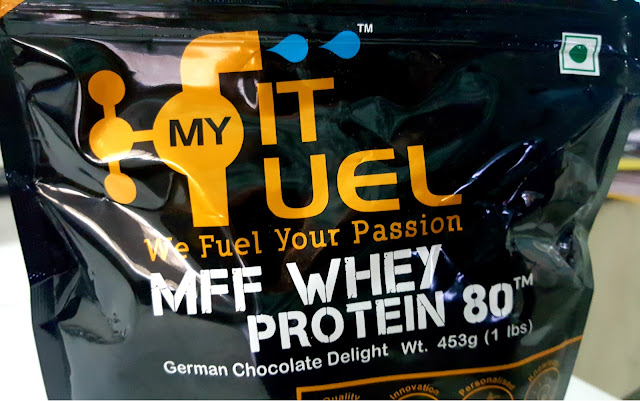 MYFITFUEL WHEY PROTEIN 80 REVIEW
