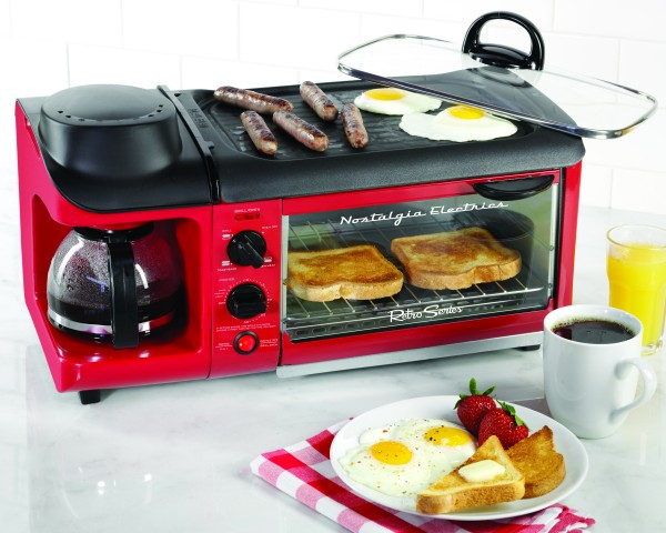 Nostalgia Retro Series 3-In-1 Breakfast Station