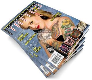 International Tattoo Magazine: April 2011