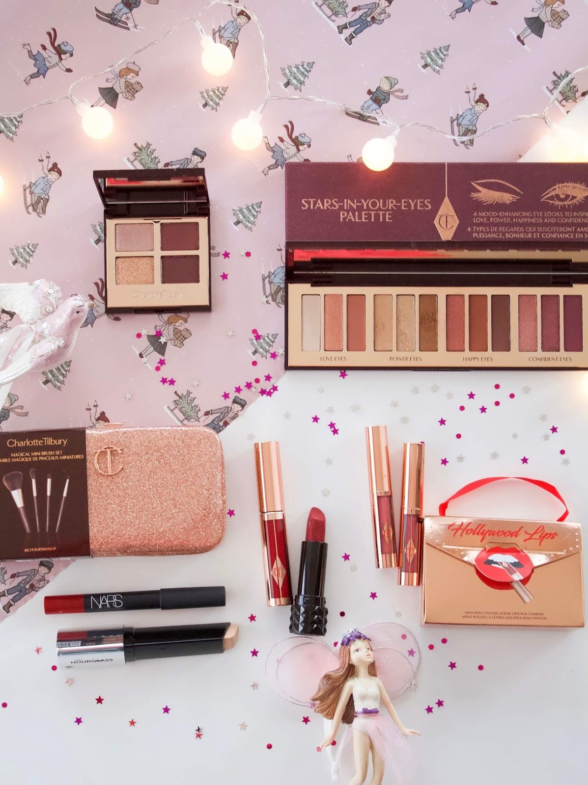 Festive beauty products