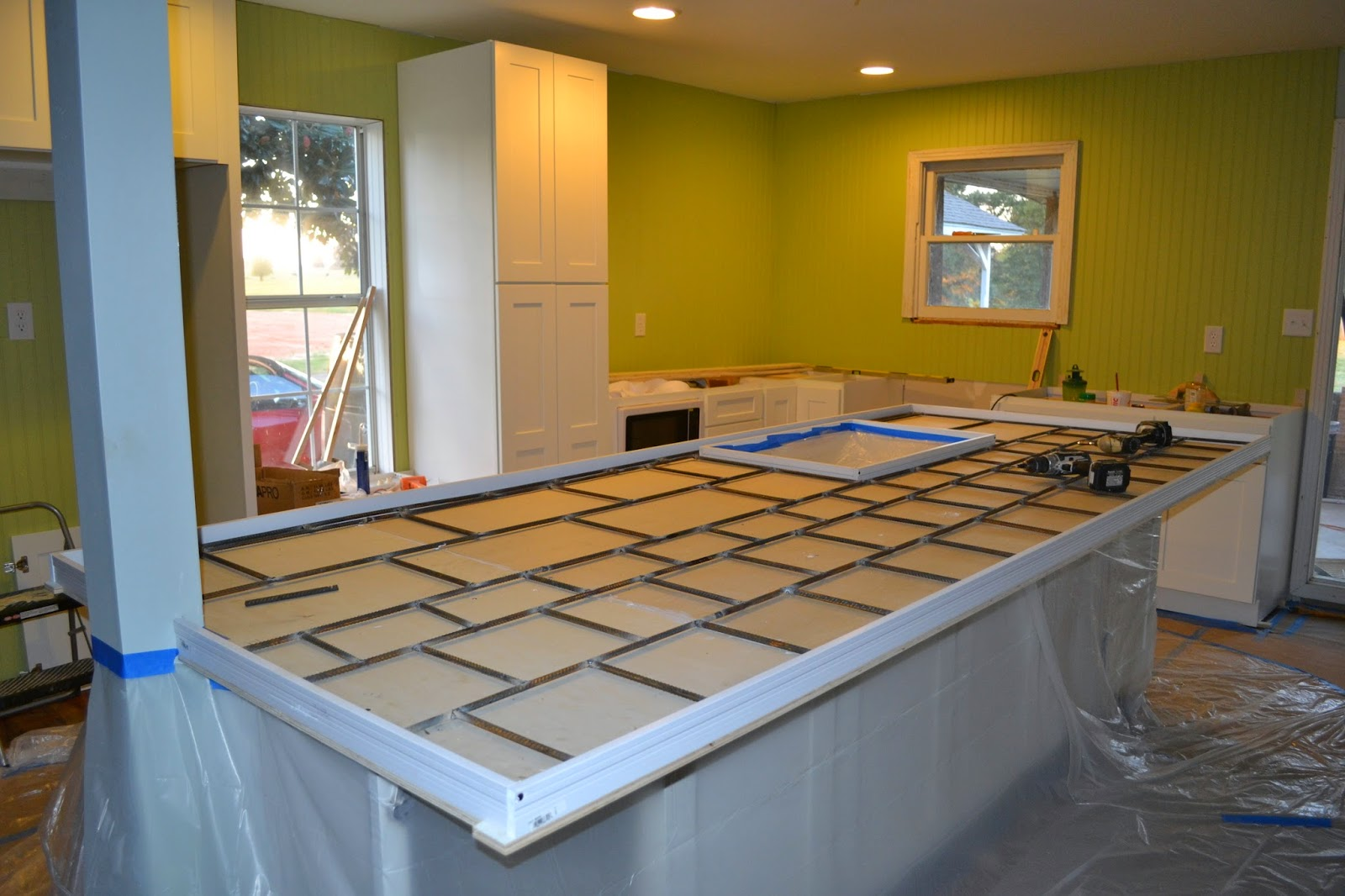 Concrete Countertop Reinforcement My Stuff November 2014