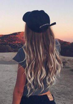 mechas californianas ombre 8 - Fresh Ombre Hair Tumblr Brown to Blonde