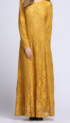 NBH0497 ISAAF LACE DRESS