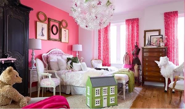 Padukan warna pink dengan hitam atau cokelat