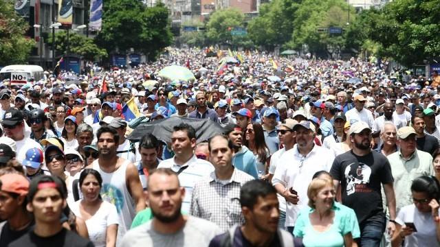 Oposición llama a marchar en el oeste de Caracas este sábado 22 de abril