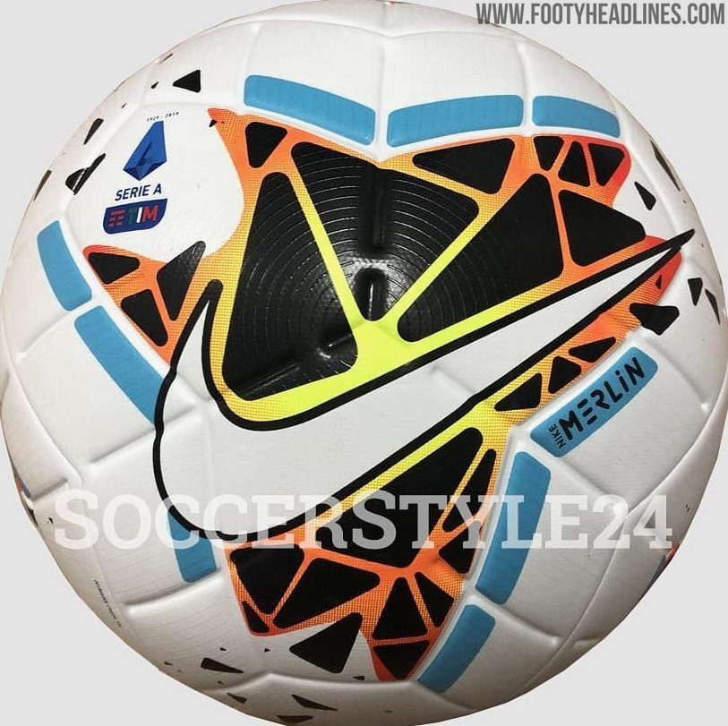 Nike Merlin Serie A 19-20 Ball 'Leaked' - New Pictures ...
