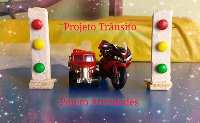 Projeto Trânsito O SEMÁFORO PARA VEÍCULOS