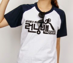 Shiny Sage Running Man Logo Short Sleeve T Shirt Popular Korea Tv Show Kpop Tshirt