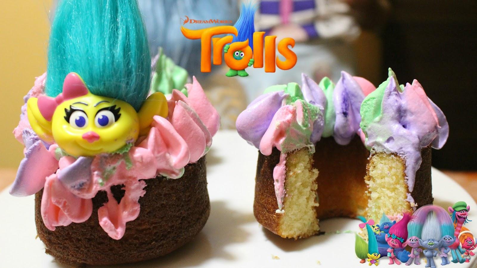 Poppy Hair Bundt Cake Troll