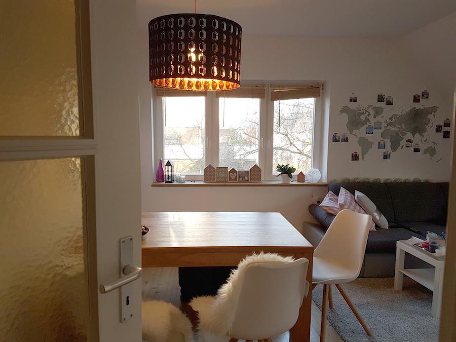 Wohnzimmer Lampe kupfer