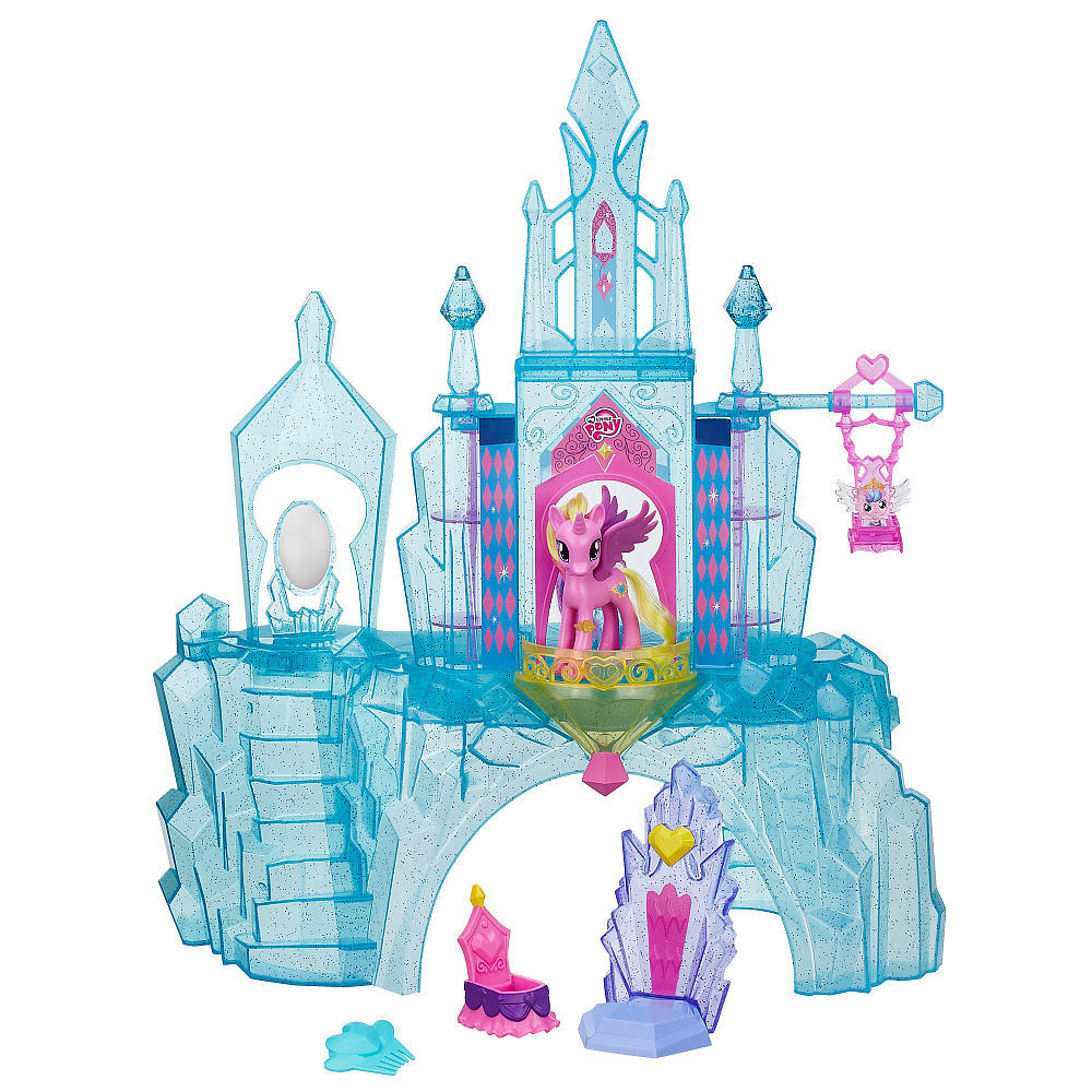 Crystal Empire Castle Playset Now On Tru Website Mlp Merch