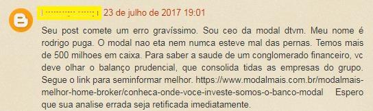 Rodrigo Puga criticando blog