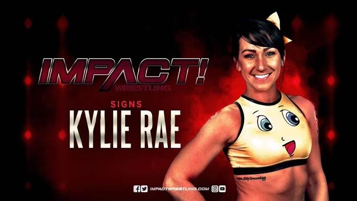 Kylie Rae assina contrato com o IMPACT Wrestling