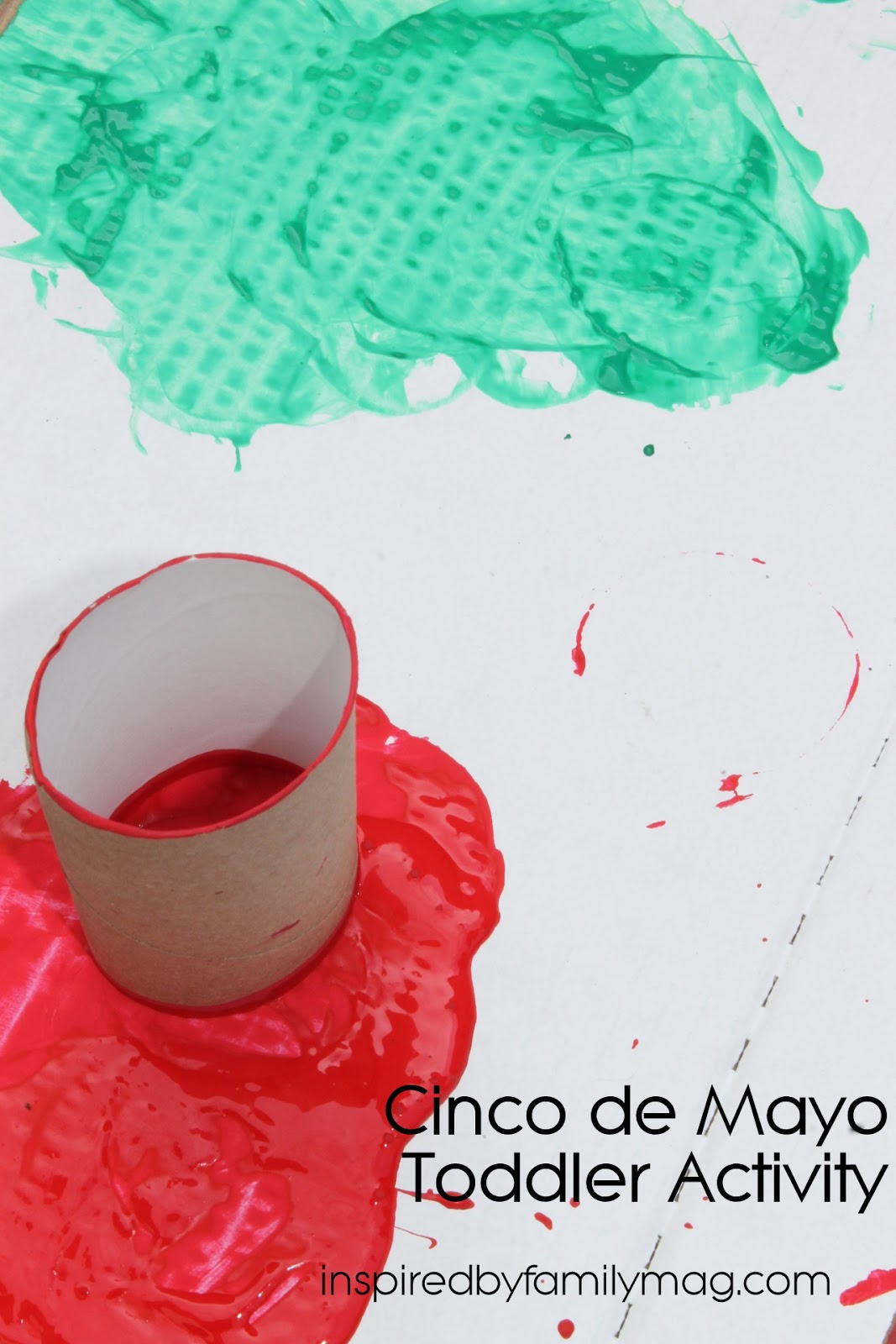 A Mom Not A Professional Nor A Perfectionist Cinco De Mayo Toddler Activity Mexican Flag