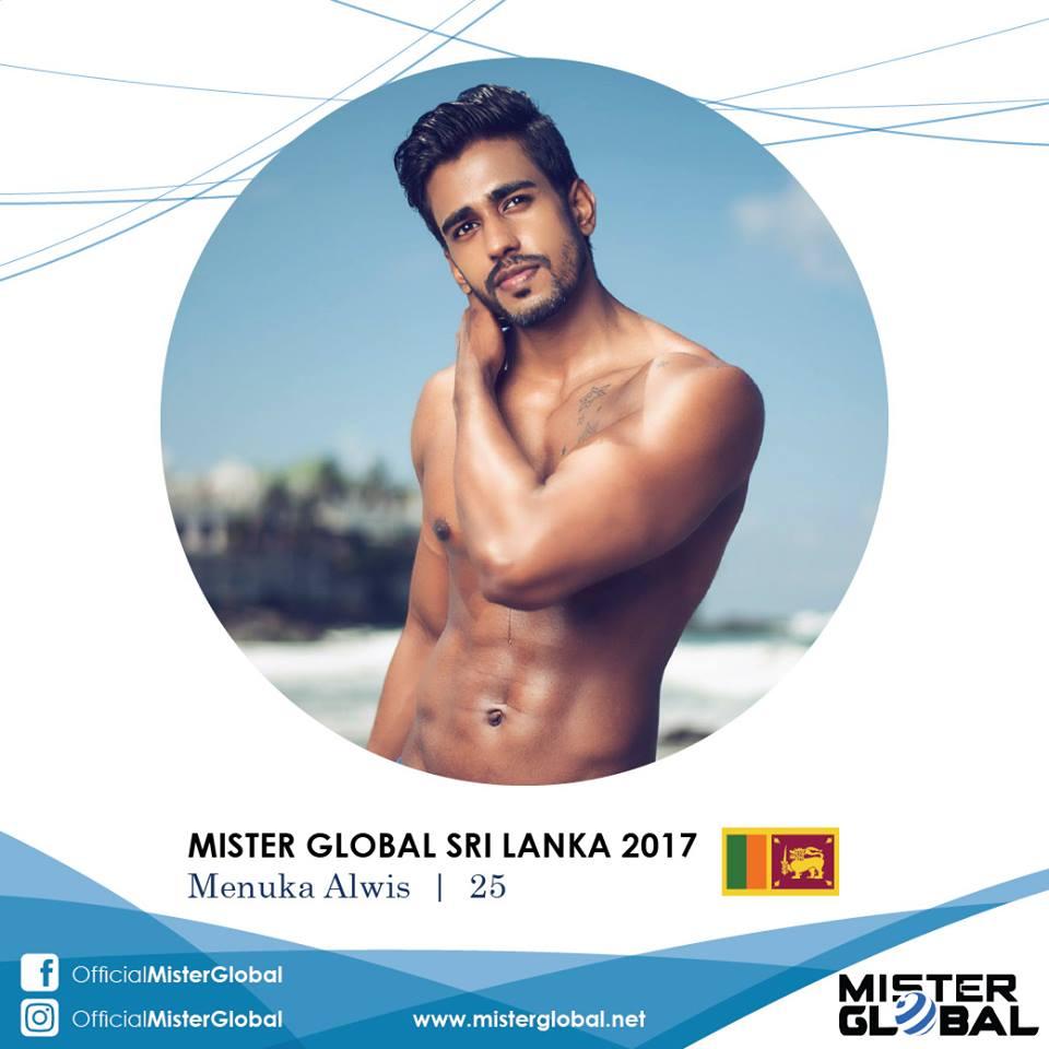 Menuka Alwis: Mister Global Sri Lanka 2017 | Apollo Male Gods