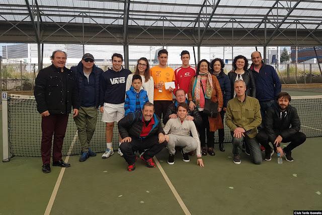 Trofeos en el Abierto Nacional Absoluto del Club Ibarreta