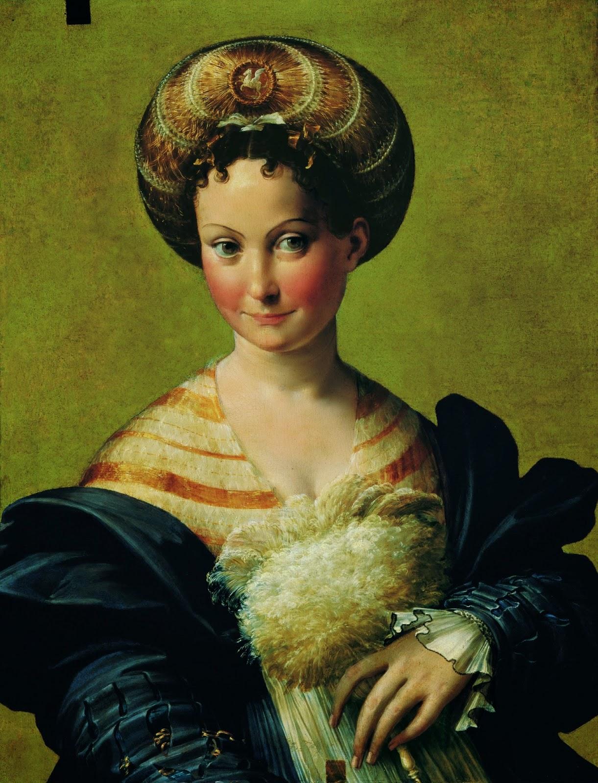 Parmigianino, raffinato ritrattista