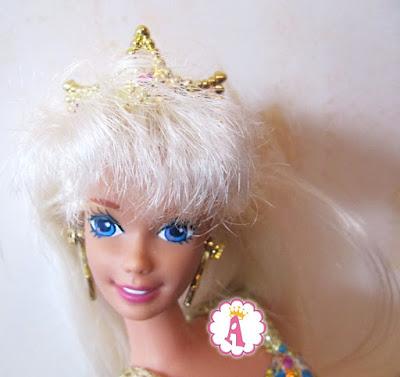 Ретро барби русалка Barbie Jewel Hair Mermaid