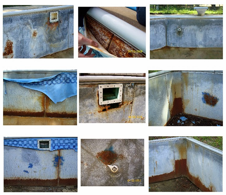 Why Steel Pool Walls Rust General Swimming Pool Information