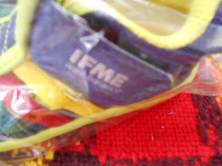 IFME サンダル ブルー 14センチ 190円 ロゴ シルバー