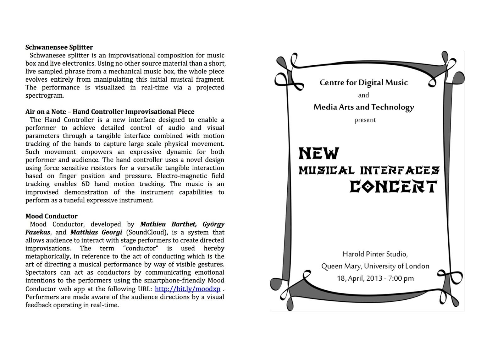 Musical Recital Program Template Music Concert Program Template ...